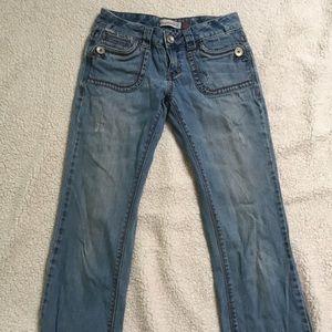 Aeropostale Long Chelsea Bootcut Jeans